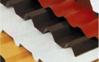 Цвета профнастила: цветовая гамма, расцветка шоколад