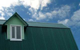Ломаная крыша  из профнастила и других материалов: как сделать мансардную конструкцию, видео и фото