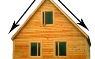 Стропильная система вальмовой крыши: расчет угла наклона, устройство каркаса из стропил