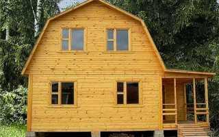 Крыша мансардного типа ломаная: устройство, строительство и монтаж конструкции