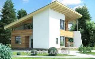 Проекты домов с односкатной крышей: каркасные, дачные, одноэтажные дома с ценами