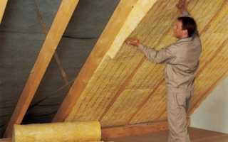 Утепление крыши изнутри: используемые материалы, инструкция как сделать своими руками, видео и фото