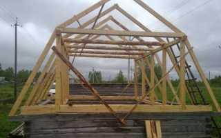 Как построить ломаную крышу своими руками, конструкция мансардной кровли, фото и видео