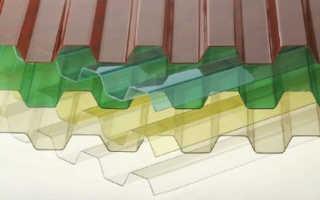 Профилированный поликарбонат: волнистый, волновой для крыши, волновой кровельный монолитный