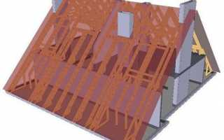 Чердачная крыша: видео-инструкция по монтажу своими руками, особенности утепления, покрытия, цена, фото