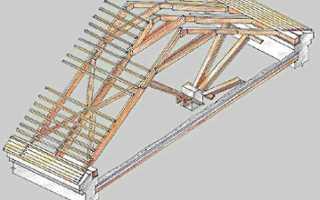 Стропильная система крыши дома своими руками: монтаж, устройство, расчет стропил