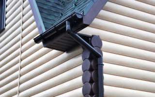 Монтаж пластиковых водостоков для крыши своими руками — фото и видео