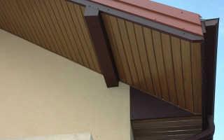Подшивка карниза софитом: варианты подшива крыши, как подшить свесы дома деревом, доска для подшивки