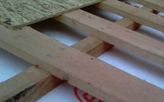 Обрешетка под мягкую черепицу: шаг стропил под ОСБ на крышу для гибкой кровли, толщина, схема, монтаж ОСП плиты, досок
