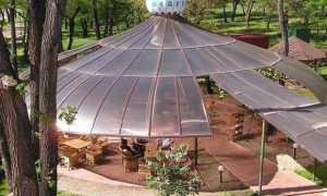 Как сделать крыши из поликарбоната своими руками, какой материал лучше профилированный, сотовый или монолитный, примеры на видео и фото