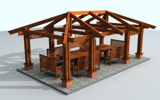 Стропильная система вальмовой крыши — устройство и чертежи (фото, видео)