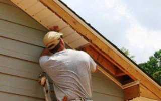 Подшивка свесов крыши: длина и размер, технология монтажа, отделка, как подшить