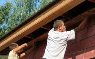 Карниз крыши: устройство свеса, инструкция как сделать своими руками, видео и фото