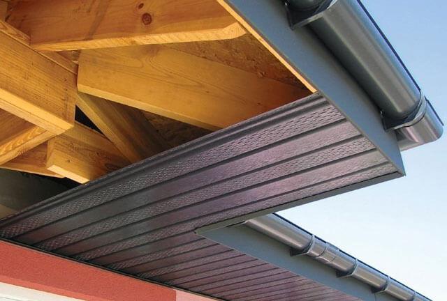 как подшить крышу дома