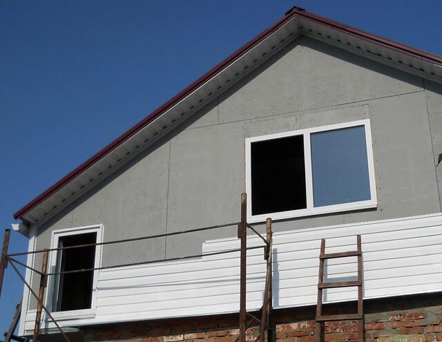 как рассчитать квадратуру фронтона крыши треугольная