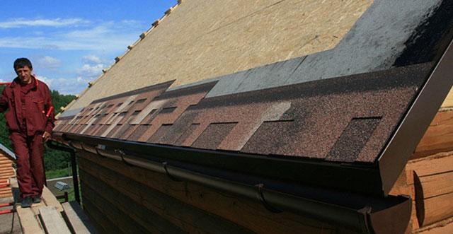 крыша из Катепала своими руками