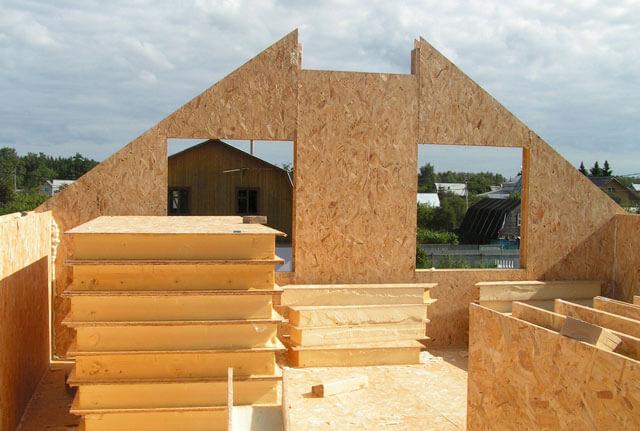 высота крыши по отношению к ширине дома