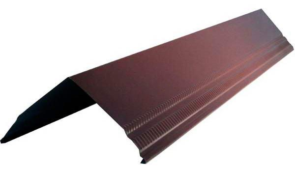 Уголковый профиль для крыш из профнастила, металлочерепицы и фланца