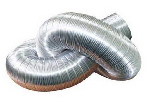 Гофрированная труба из алюминия