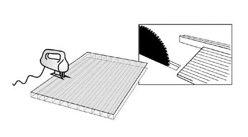Технология резки поликарбоната