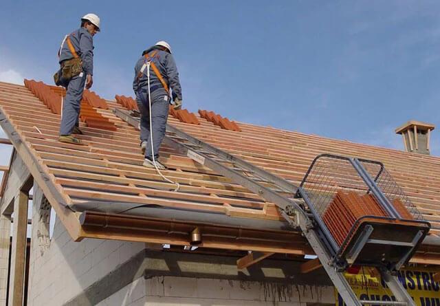техника безопасности при работе на крыше