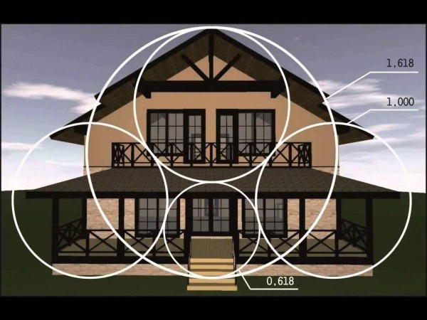 """""""Золотые"""" пропорции в проектировании крыши дома"""