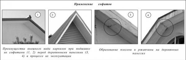 Преимущества применения софитных панелей