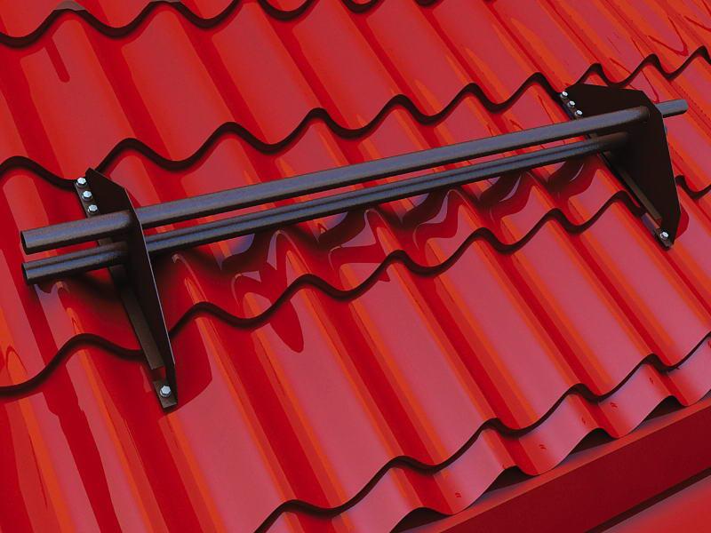 Снегозадержатели односкатной крыши