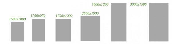 Размеры плоских листов из асбестоцемента
