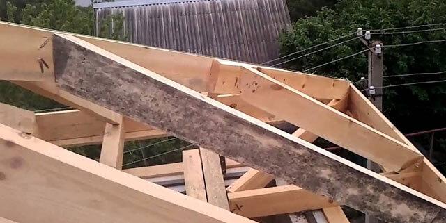 как рассчитать площадь четырехскатной крыши дома