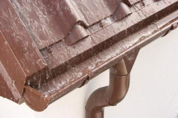 Кровельный отлив из оцинкованной стали с полимерным покрытием