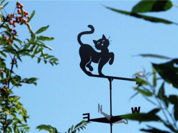Ветряк в форме кошки