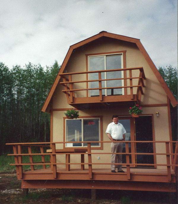 ломаная крыша с вертикальным освещением