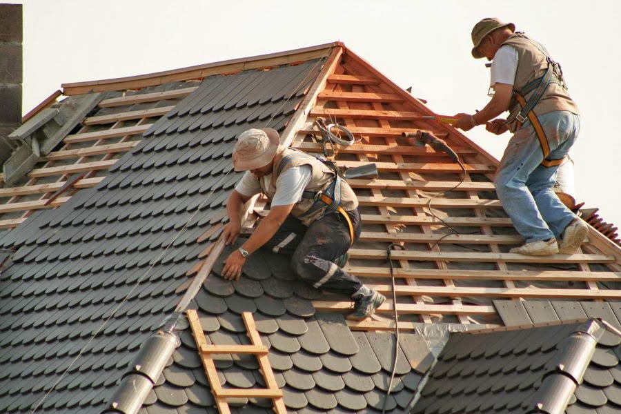 Монтаж мягкой черепицы на трехскатную крышу