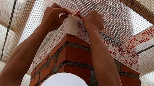 как сделать пароизоляцию крыши