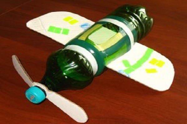 Готовый вариант ветряка в виде самолета