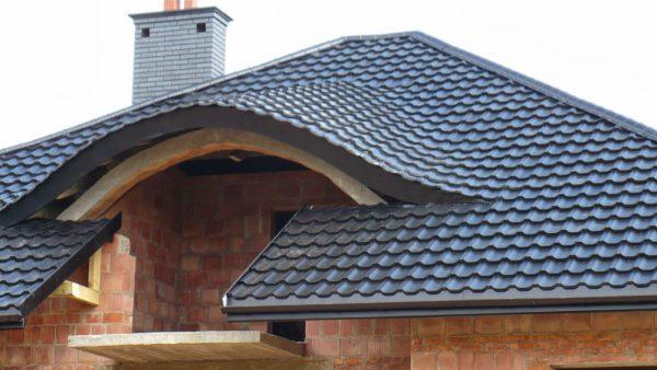 Крыша из модульной черепицы