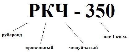 Расшифровка маркировки материала