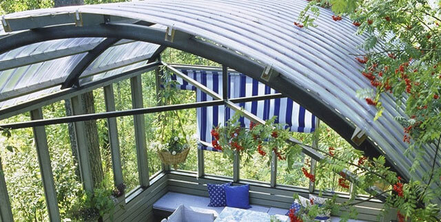 как сделать крышу из поликарбоната своими руками