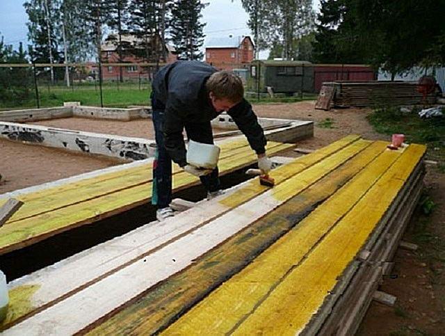 Обработка древесины антисептиком глубокого проникновения
