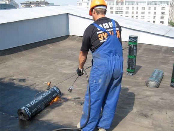 устройство наплавляемой крыши