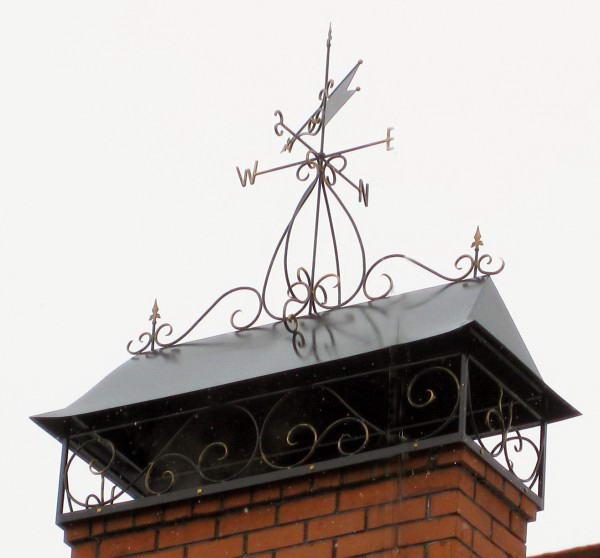 Ветряк, устанавливаемый на дымоходную трубу