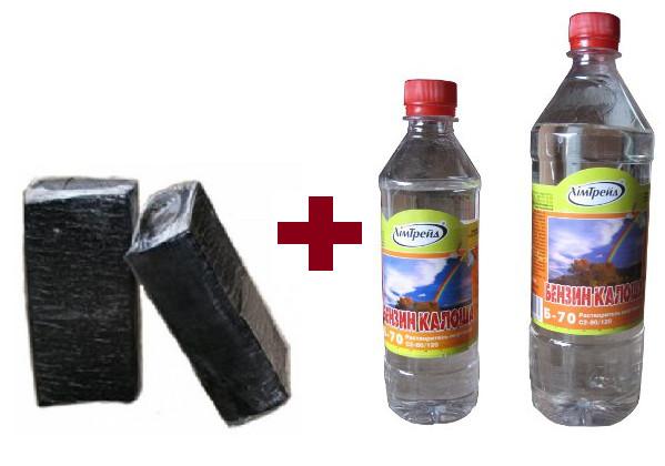 Ингредиенты для приготовления горячей мастики