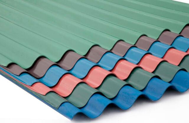 листы для крыши из пластика
