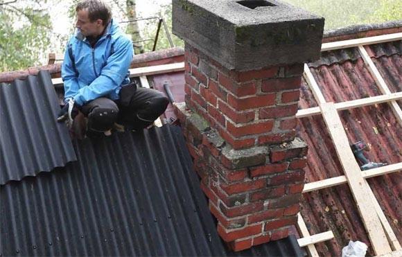 покрытие для крыши дома ондулин