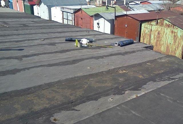 чем закрыть крышу гаража чтобы не протекала