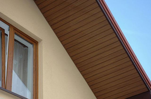 обшивка карниза крыши