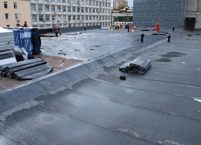 ремонт плоских крыш и мягкой кровли