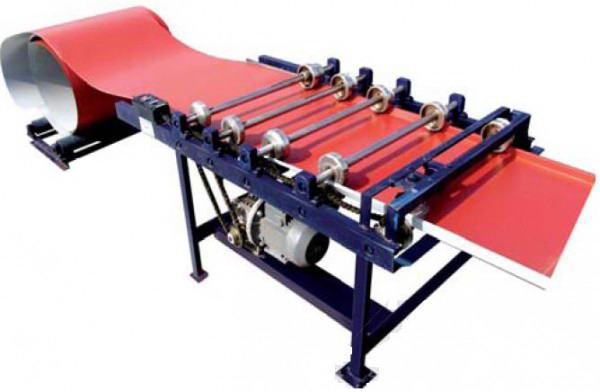 Машинка для обработки кромки металла, изготовляющая фальцы