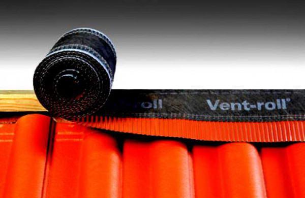 Вентиляционная коньковая лента